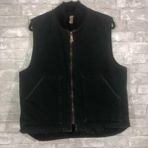 Men's Carhartt Black Vest Size L